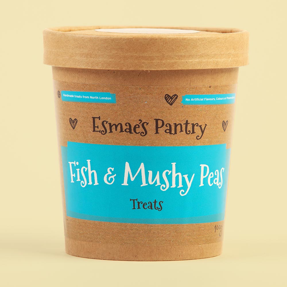 Fish & Mushy Peas Treats
