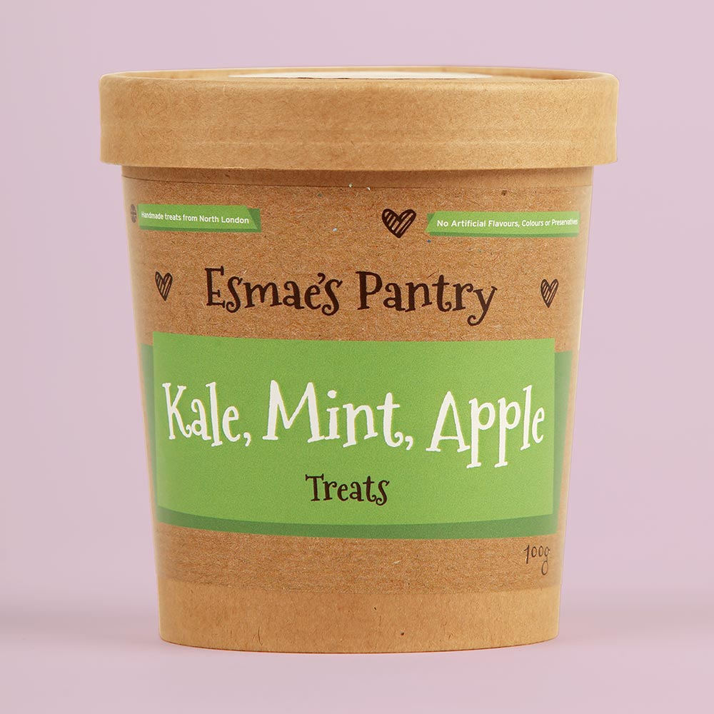 Kale Mint & Apple Treats