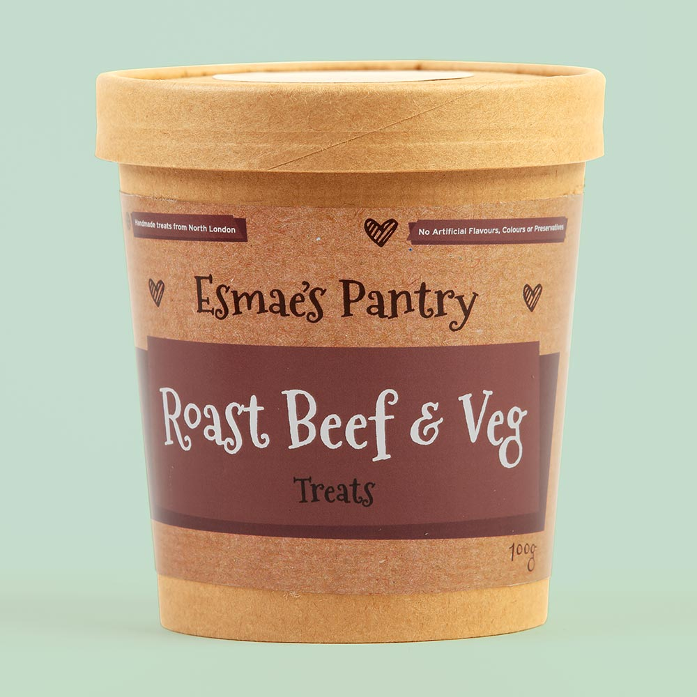 Roast Beef & Veg Treats