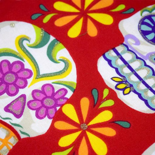 Bandana Mexican Sugar Skulls Pattern
