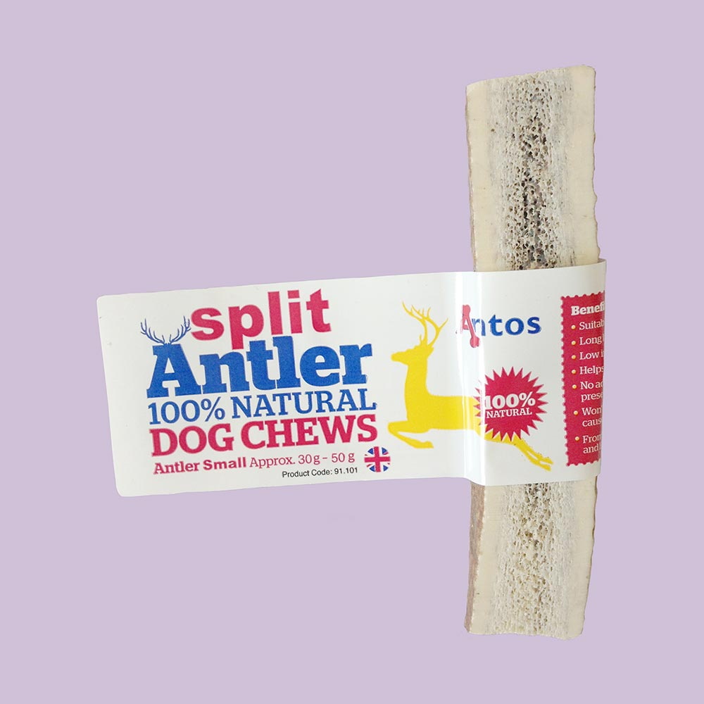 Split Antler Dog Chews Small